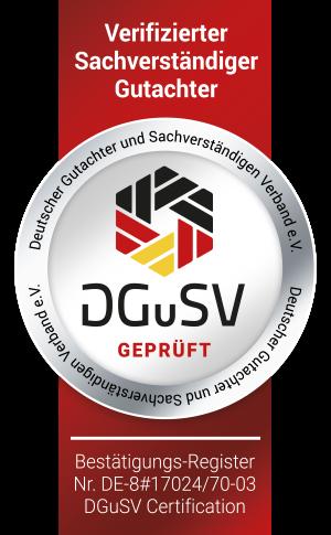 SGuSV Gerprüfter Gutachter für Webseiten