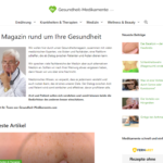 Gesundheit-Medikamente.com Screenshot