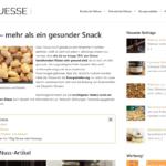 Nuesse.org Screenshot